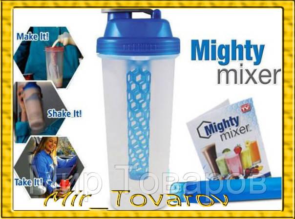 Стакан - шейкер для коктейлей mighty mixer ручной