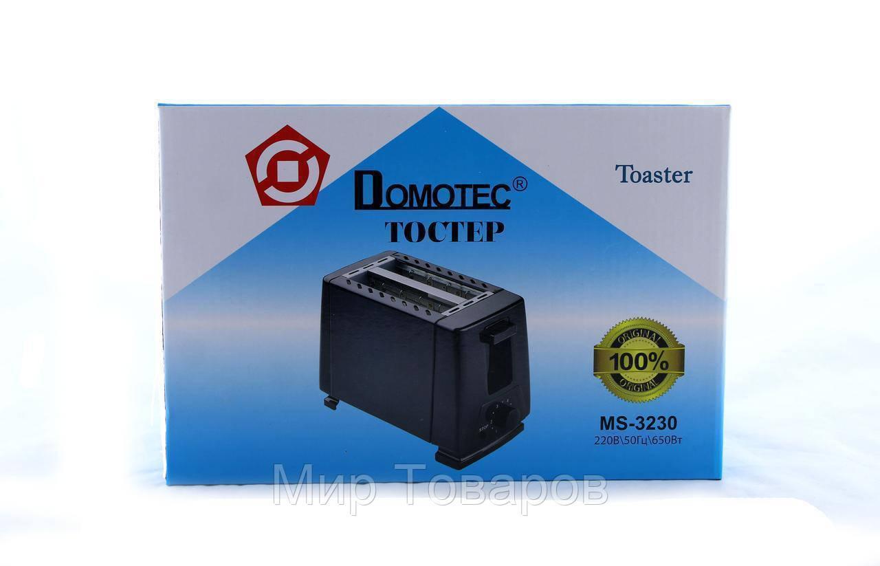Тостер MS 3230 черный  12
