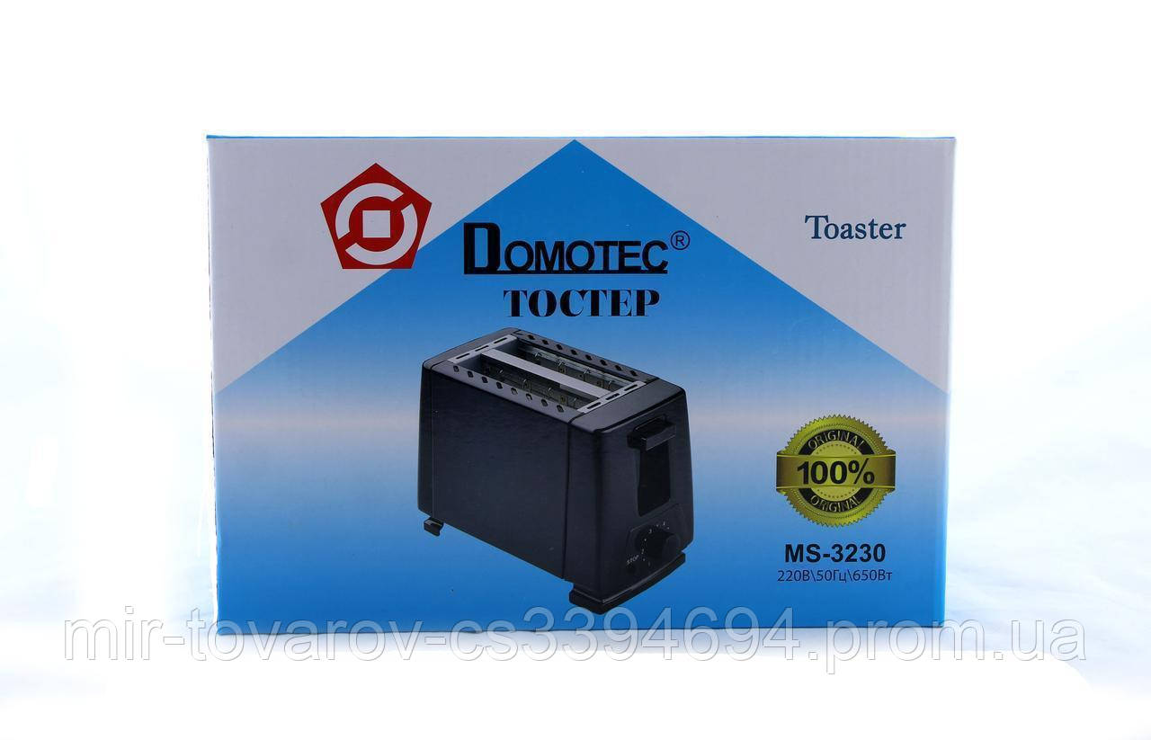 Тостер MS 3230 чорний 12