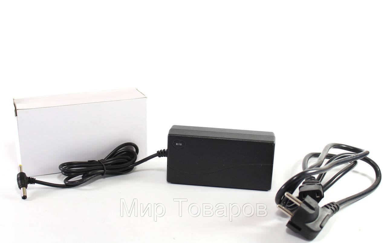 Адаптер 12V 5A Пластик + кабель  разъём 5.5*2.5mm    50