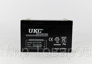 Аккумулятор BATTERY 6V 10A UKC  14