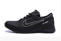 Чоловічі шкіряні кросівки Nike Street Style, фото 1