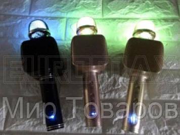 Микрофон караоке с подсветкой (цвета) YS68