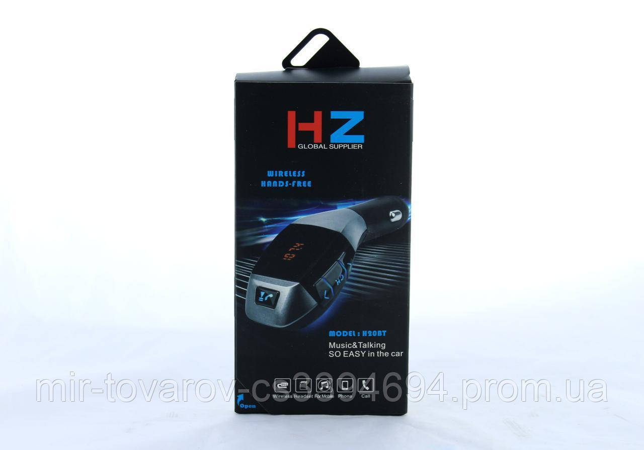 FM трансмітер MOD. H20 + BT