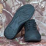 Тактичні кросівки JAGUAR-S гладка шкіра cordura чорні, фото 3