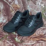 Тактичні кросівки JAGUAR-S гладка шкіра cordura чорні, фото 2
