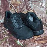 Тактичні кросівки JAGUAR-S гладка шкіра cordura чорні, фото 10
