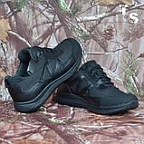 Тактичні кросівки JAGUAR-S гладка шкіра cordura чорні, фото 4
