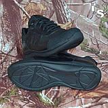 Тактичні кросівки JAGUAR-S гладка шкіра cordura чорні, фото 5