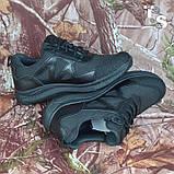 Тактичні кросівки JAGUAR-S гладка шкіра cordura чорні, фото 7