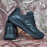 Тактичні кросівки JAGUAR-S гладка шкіра cordura чорні, фото 9