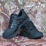 Тактичні кросівки JAGUAR-S гладка шкіра cordura чорні, фото 8