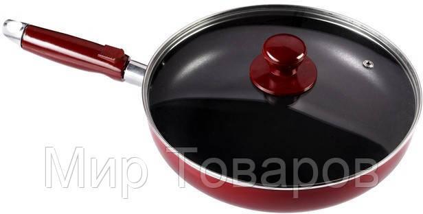Сковорода с тефлоновым покрытием и крышкой Ø 220 мм (шт)