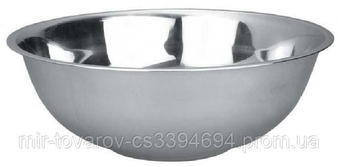 Миска нержавеющая круглая V 14000 мл Ø 440 мм ( шт )