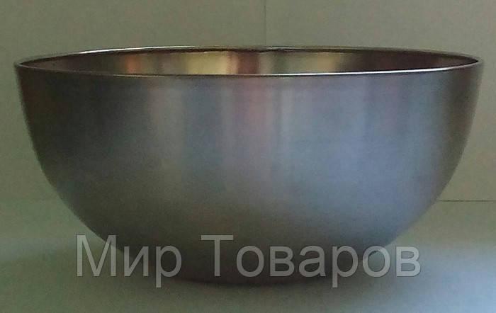 Миска нержавеющая круглая V 5000 мл Ø 295 мм (шт)