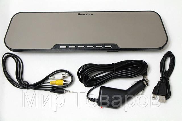 Видеорегистратор - зеркало заднего вида DVR HD Car Camera Rearview A-1