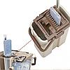 Швабра з відром з автоматичним віджимом Easy Mop | Комплект для прибирання Диво-швабра і відро з віджимом, фото 2