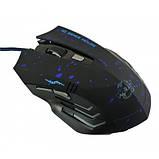 USB ігрова миша мишка 6D Gamer Mouse Blue 929, фото 2