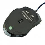 USB ігрова миша мишка 6D Gamer Mouse Blue 929, фото 4