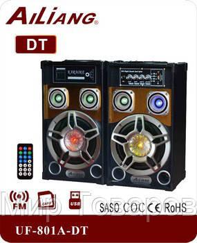 Акустическая система USBFM-801A-DT/2.0