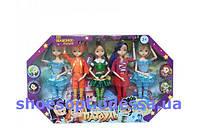 Куклы шарнирные Сказочный патруль набор 5 кукол