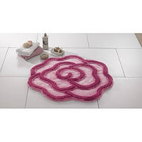Коврик для ванной Confetti Afrodis 80 (диаметр) розовый
