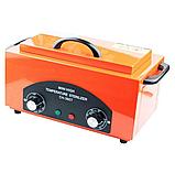 Стерилизатор сухожар для маникюрных инструментов СН-360T (оранжевый), фото 2