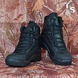 Тактичні черевики OTAMAN-2 чорні хром зима/демі, фото 3