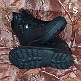 Тактичні черевики OTAMAN-2 чорні хром зима/демі, фото 9