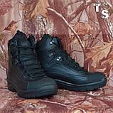 Тактичні черевики OTAMAN-2 чорні хром зима/демі, фото 4