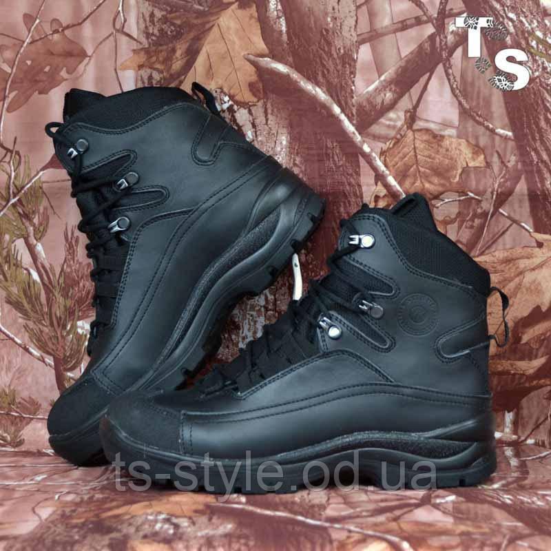 Тактичні черевики OTAMAN-2 чорні хром зима/демі