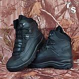 Тактичні черевики OTAMAN-2 чорні хром зима/демі, фото 6