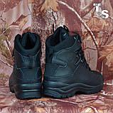 Тактичні черевики OTAMAN-2 чорні хром зима/демі, фото 2