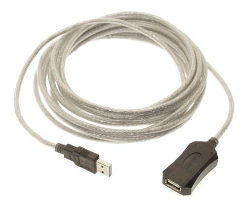 5м USB 2.0 удлинитель активный репитер