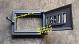 Дверцята чавунна пічна з регулюванням піддування повітря мангал, барбекю, печі, фото 2