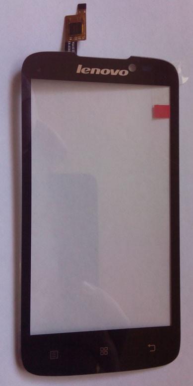 Lenovo A516 сенсорный экран, тачскрин черный