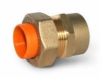 Муфта для трубы газовой гофрированной 20х3/4 внутренняя резьба Dispipe, фото 1