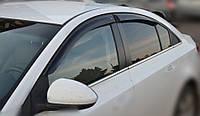 Ветровики Шевроле Круз | Дефлекторы окон Chevrolet Cruze Sd 2012-