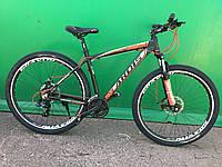 """Горный велосипед найнер Ardis """"Brave"""" 29"""" алюминиевый Велосипед горный Ардис 29 дюймов черно-оранжевый"""
