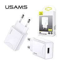 Зарядное устройство 2.1A USAMS T29 White