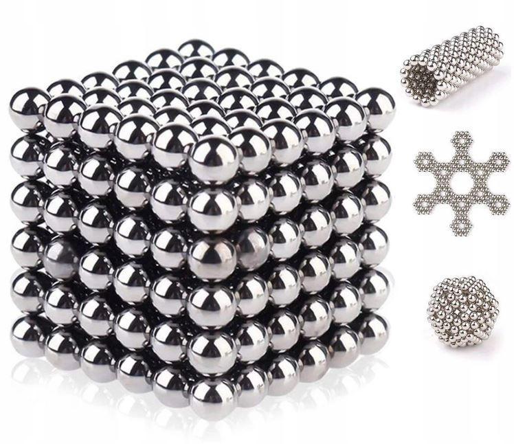 Игрушка NEO CUB SILVER 216 шариков + Подарочный бокс металлическая