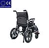 Складна електровізок D-6023. Інвалідна коляска. Крісло для інваліда. Крісло коляска., фото 4