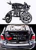 Складна електровізок D-6023. Інвалідна коляска. Крісло для інваліда. Крісло коляска., фото 6
