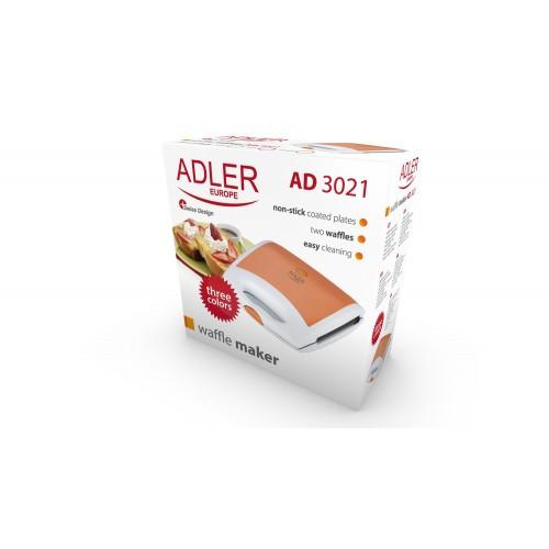 Вафельница Adler AD 3021 Orange