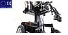 Електричний візок інвалідний з регулюванням висоти сидіння W1022, фото 8