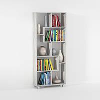Cтеллаж полка для дома, этажерка для книг и игрушек G0076 Бетон