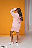 Женское спортивное худи-платье с капюшоном р. 42-46, фото 10
