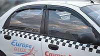 Ветровики Шевроле Ланос  | Дефлекторы окон Chevrolet Lanos Sd 2005