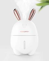 Увлажнитель воздуха и ночник 2в1 Humidifiers Rabbit, фото 3