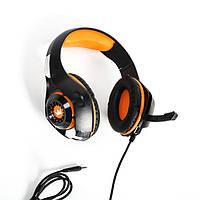 Гарнитура игровая Crown CMGH-101T Orange